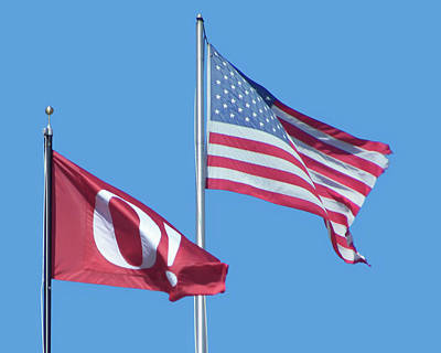 Photograph - Flags - United States - Omaha by Nikolyn McDonald