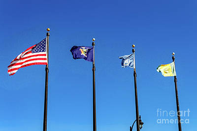 Photograph - Flags by William Norton