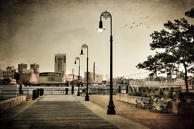 Photograph - Flagship Wharf - Boston Harbor by Joann Vitali