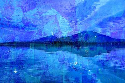 Flagstaff Lake Blu Art Print