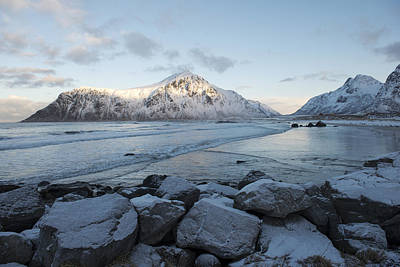 Photograph - Flakstad Beach, Lofoten 3 by Dubi Roman