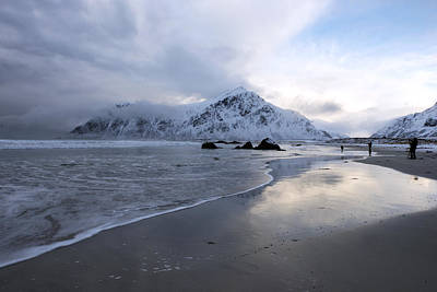 Photograph - Flakstad Beach, Lofoten 1 by Dubi Roman
