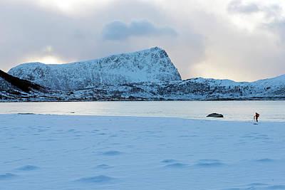 Photograph - Flakstad, Lofoten, by Dubi Roman