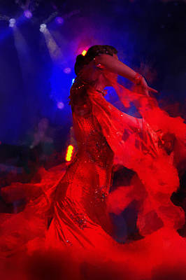 Photograph - Flame Dance by Jenny Rainbow