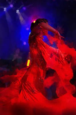 Photograph - Flame Dance by Jenny Rainbow