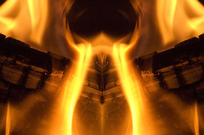Flame Forms Art Print by Ross Powell