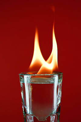 Photograph - Flame Shot by James Reed