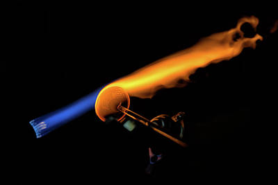 Photograph - Flame Work by Digiblocks Photography
