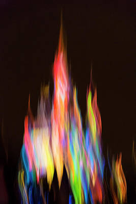 Photograph - Flamebow by Alex Lapidus