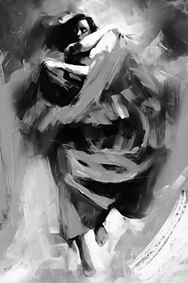 Flamenco 032198b Art Print