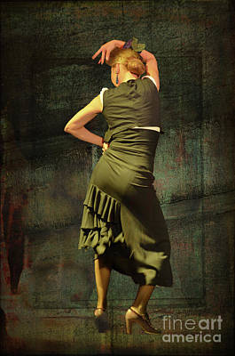 Photograph - Flamenco #21 - Attitude by Mary Machare