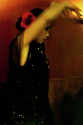 Photograph - Flamenco 37 by Catherine Sobredo