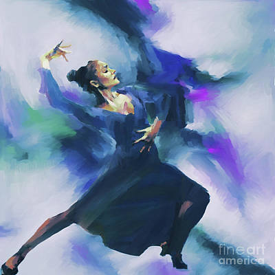 Flamenco Dance Art 67h Original by Gull G