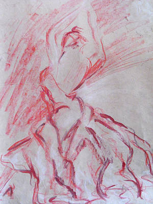 Flamenco Dancer 1 Art Print