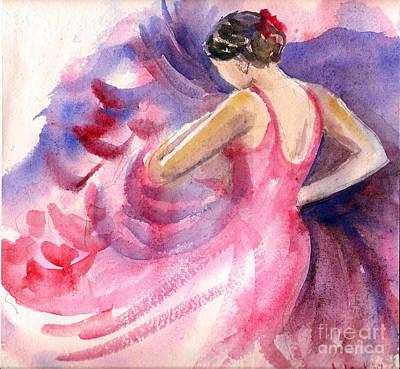 Flamenco Dancer Original