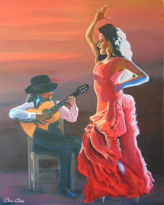 Flamenco Guitar Paintings Page 3 Of