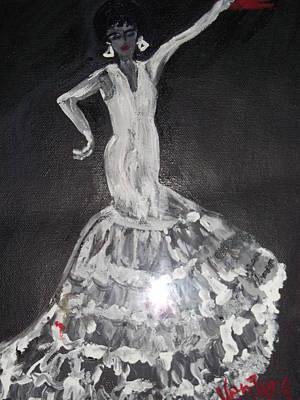Flamenco Dancer Art Print