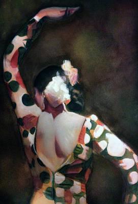 Thomas Kinkade Royalty Free Images - Flamenco Dancer II Royalty-Free Image by Gregory DeGroat