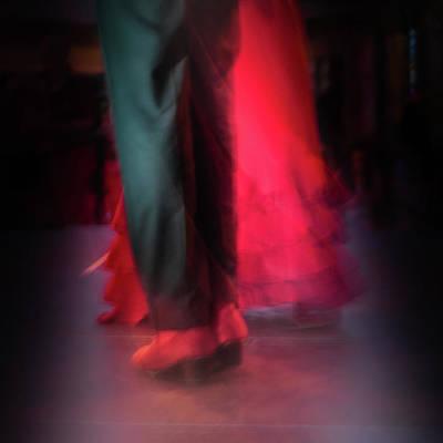 Digital Art - Flamenco Dancers by Tetyana Kokhanets