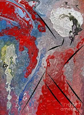 Flamenco Mixed Media - Flamenco Flame by Mimo Krouzian