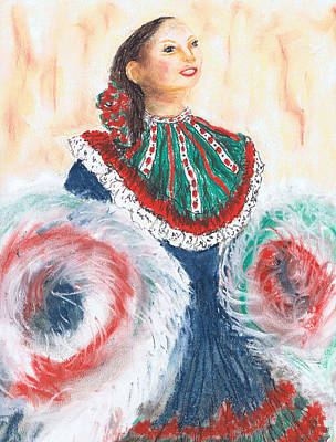 Painting - Flamenco by Marilyn Barton