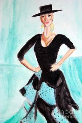 Painting - Flamenco Redux by Stanley Morganstein