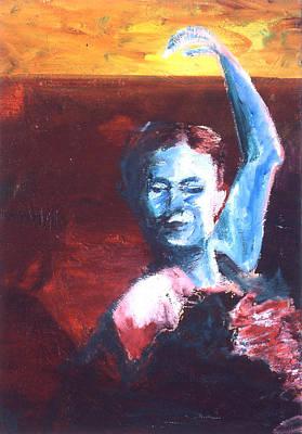 Flamenco Seco Art Print by LB Zaftig