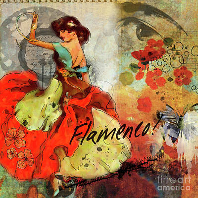 Painting - Flamenco by Shirley Stalter
