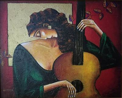 Wall Art - Painting - Flamenco by Stuart Glazer