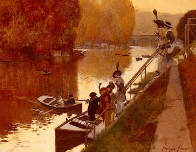Flameng Francois Ile Pointeaux Art Print