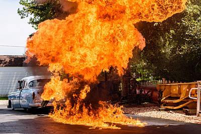 Photograph - Flameout by Randy Scherkenbach