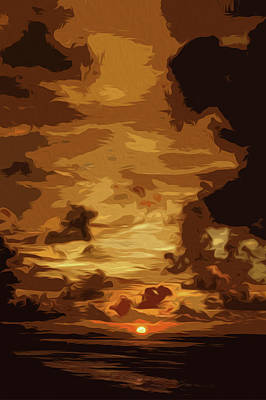 Painting - Flames Of Glory by Andrea Mazzocchetti
