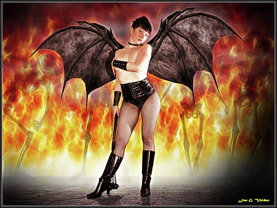 Photograph - Flames Of The Succubus by Jon Volden
