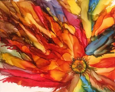 Painting - Burst by Pat Purdy