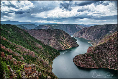 Photograph - Flaming Gorge by Erika Fawcett