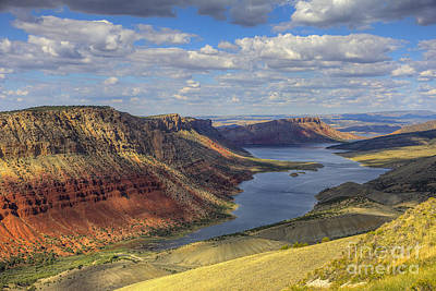 Flaming Gorge Art Print