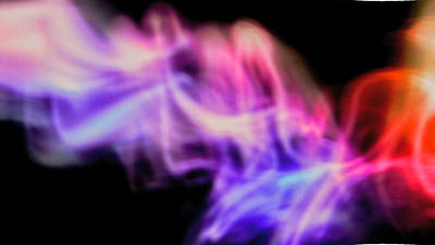 Photograph - Flaming Love by Kae Art