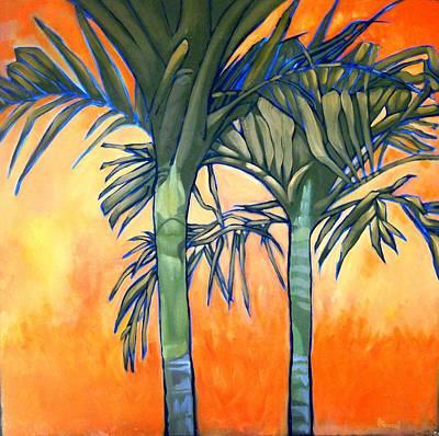 Flaming Palms Original