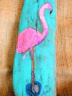 Mixed Media - Flamingo by Ann Michelle Swadener
