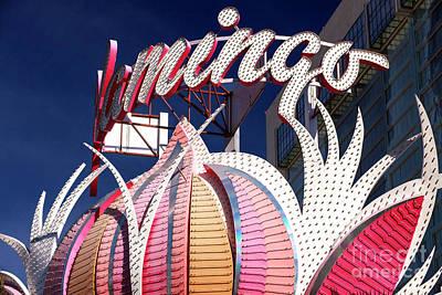 Flamingo Colors Las Vegas Art Print by John Rizzuto