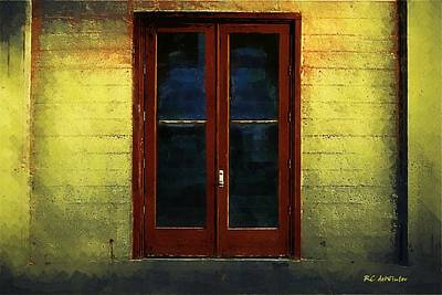 Painting - Flamingo House by RC deWinter