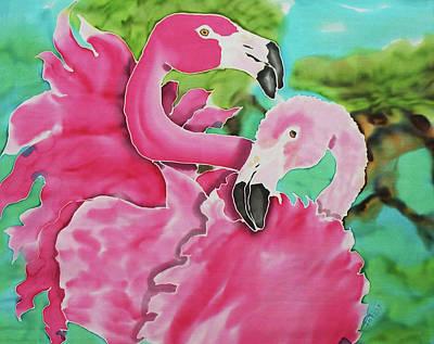 Flamingo Passion Art Print