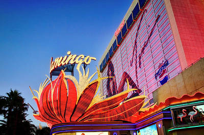 Photograph - Flamingo Vegas by Scott Kemper