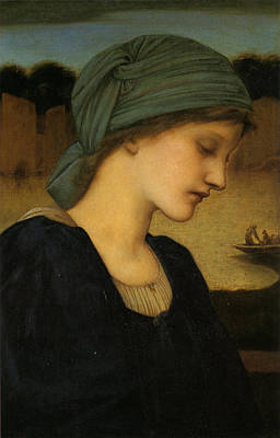Painting - Flamma Vestalis by Edward Burne-Jones