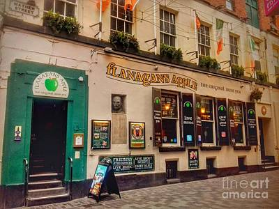 Photograph - Flanagan's Apple At Mathew Street by Joan-Violet Stretch