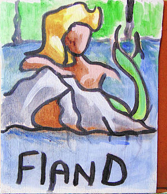 Painting - Fland by Loretta Nash