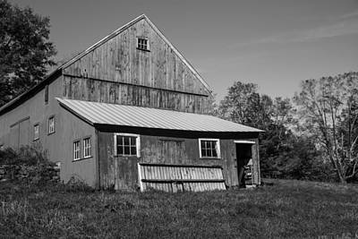 Photograph - Flanders Barn by Karol Livote