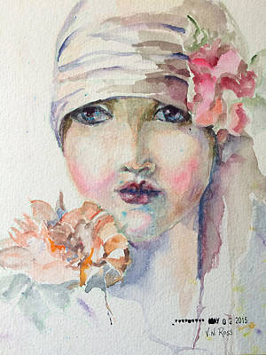 Painting - Flapper by Vicki Ross