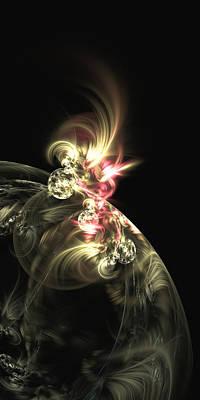 Digital Art - Flare Of Desire by John Pirillo