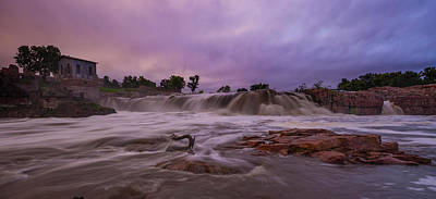 Sioux Photograph - Flash Flood by Aaron J Groen